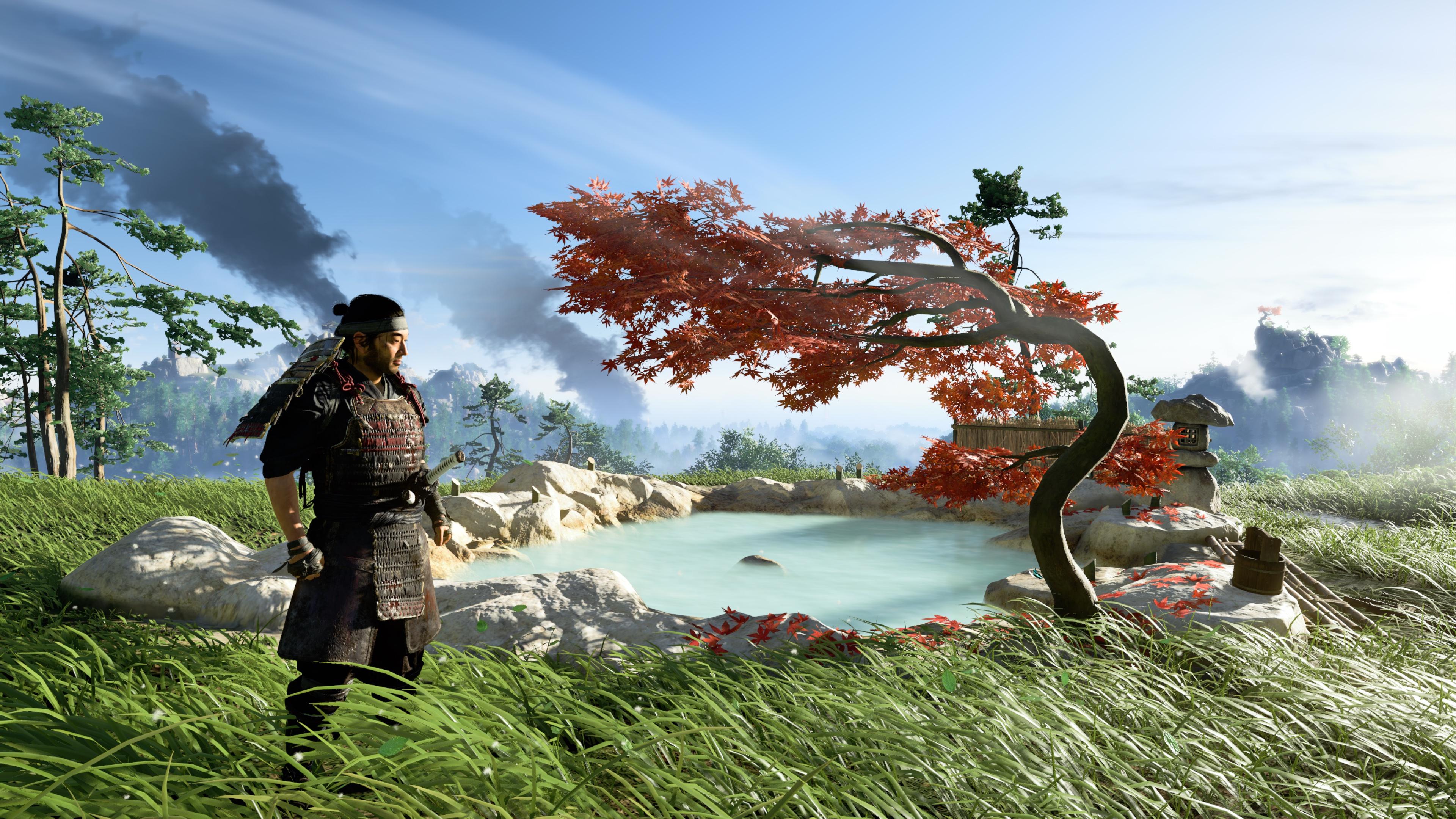 Screenshot 4K Jin Sakai