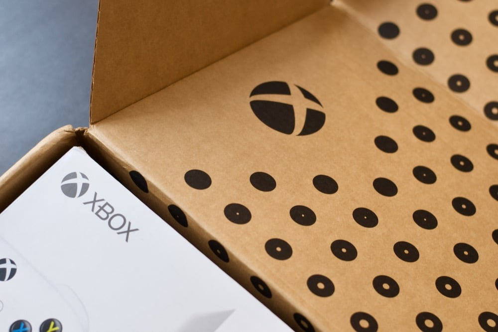 Unboxing Xbox Series S