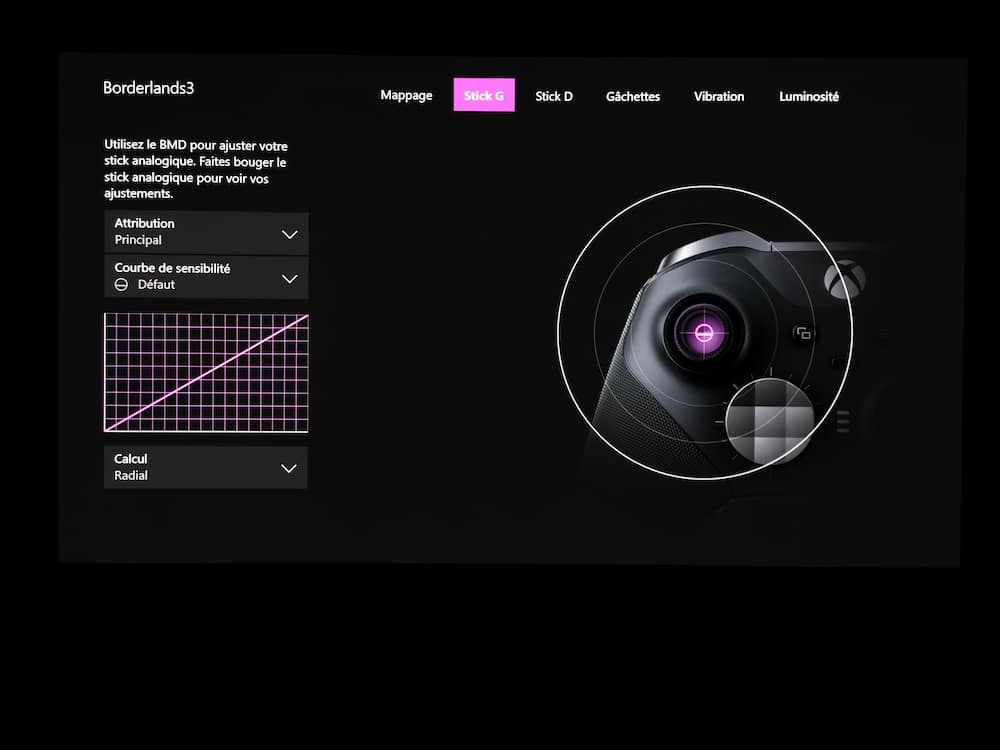 Xbox Elite V2 Interface