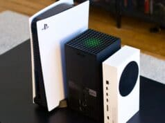 Comparatif taille PS5 Xbox Series X