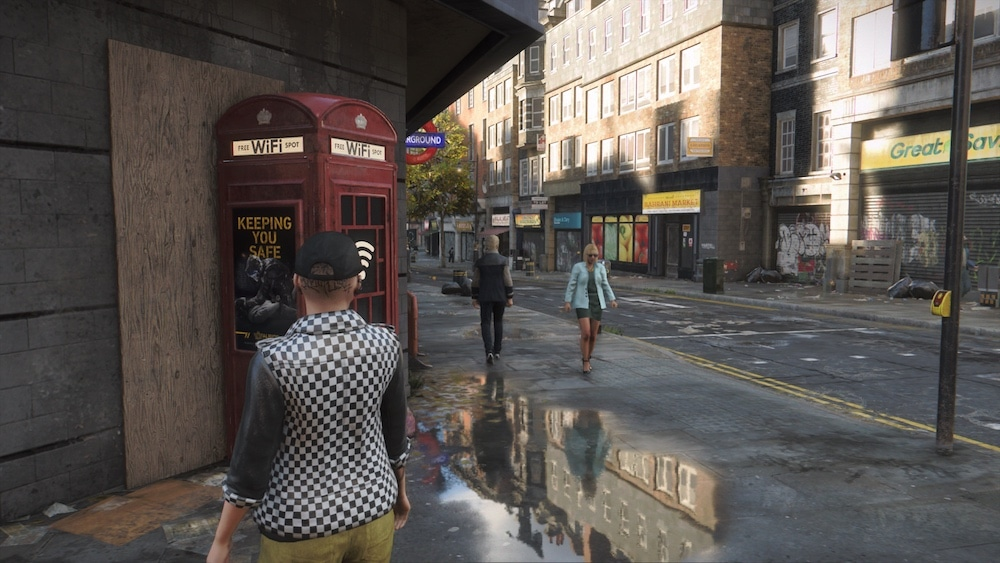 Ray-Tracing Xbox Series S Watch Dogs