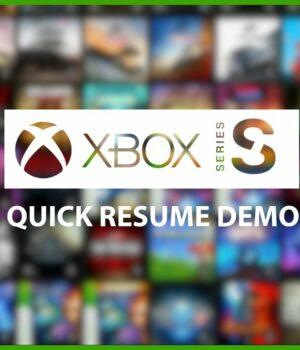 Quick Resume sur Xbox Series S