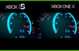 Xbox Series S temps de chargement Xbox One X