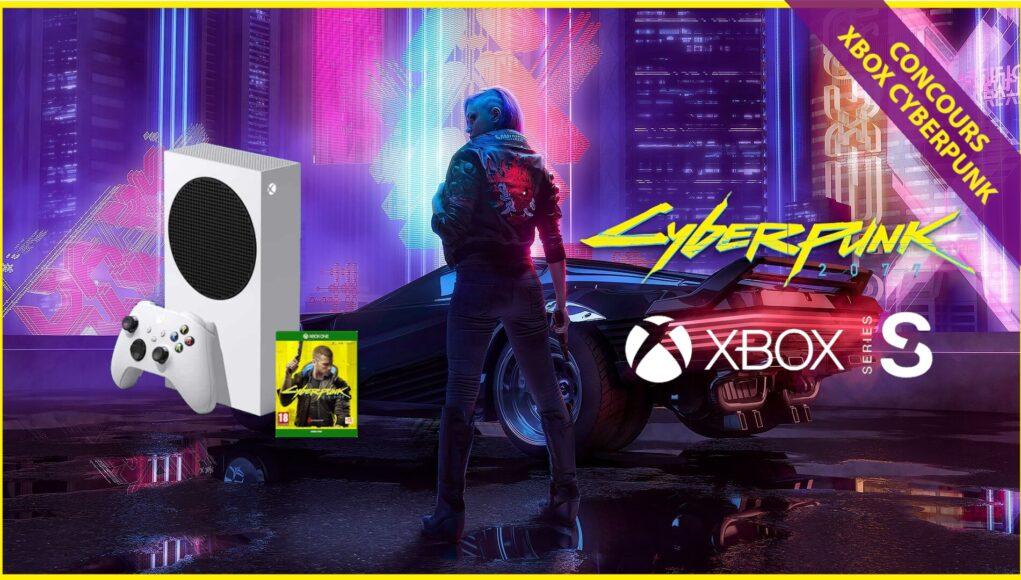 Concours Noel Xbox Cyberpunk 2077