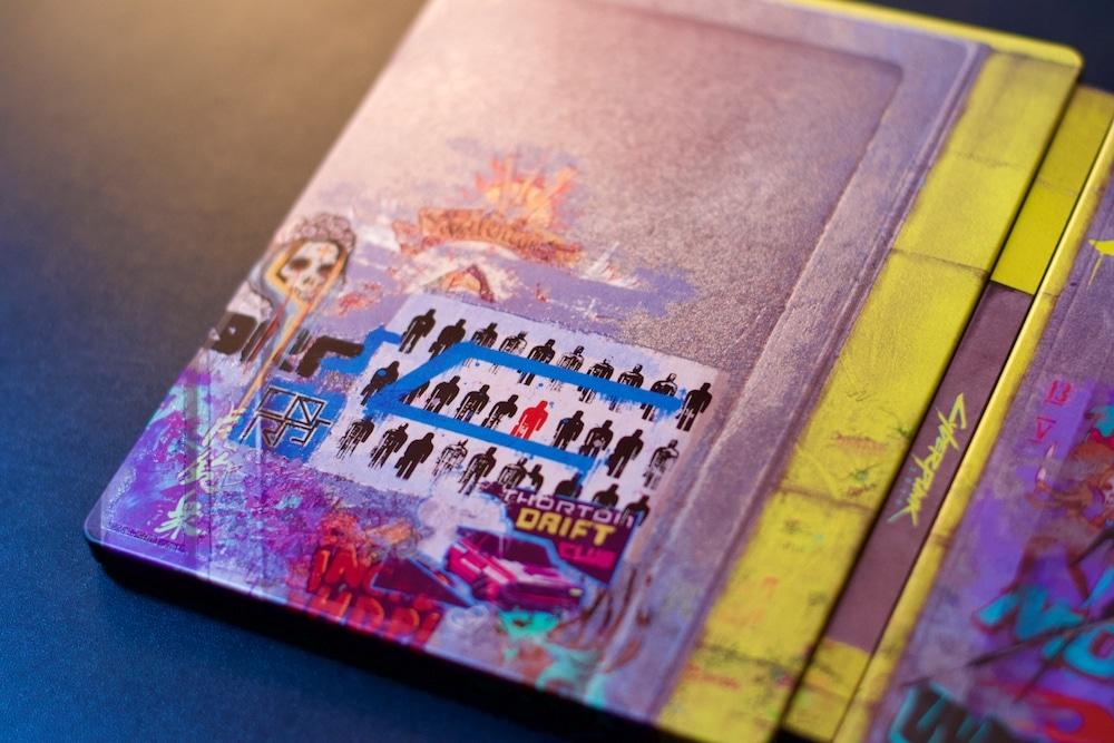 Cyberpunk Steelbook