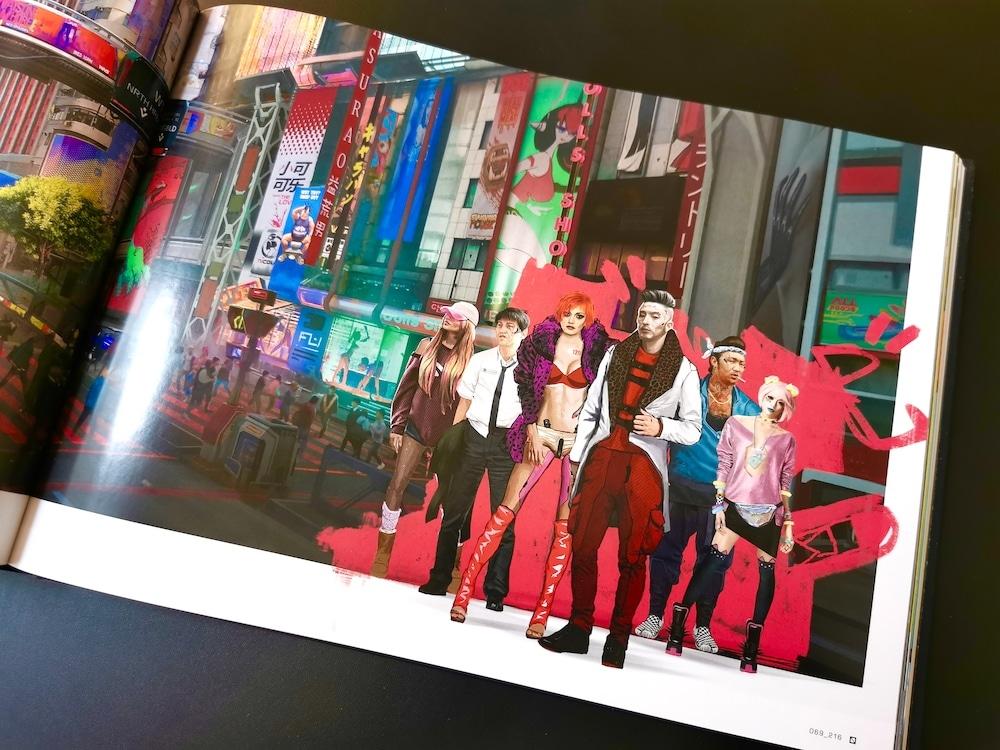CYberpunk 2077 artbook