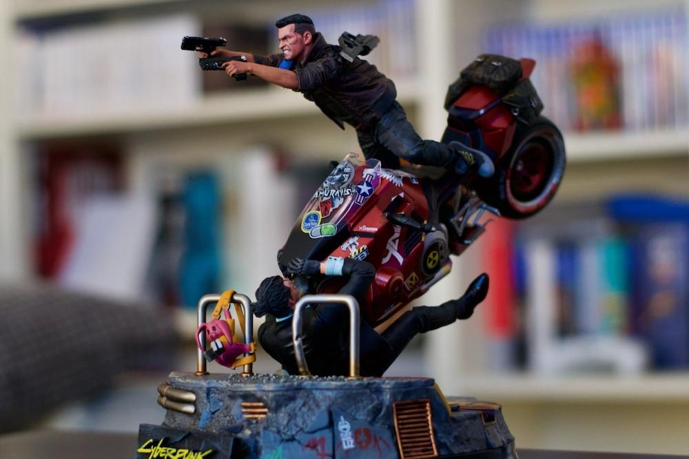 Cyberpunk 2077 figurine