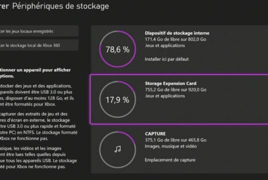 SSD Interface Xbox