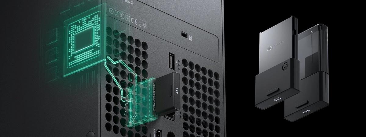 Xbox Series X SSD Extension