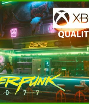 Cyberpunk 2077 Xbox Series X Mode Qualite