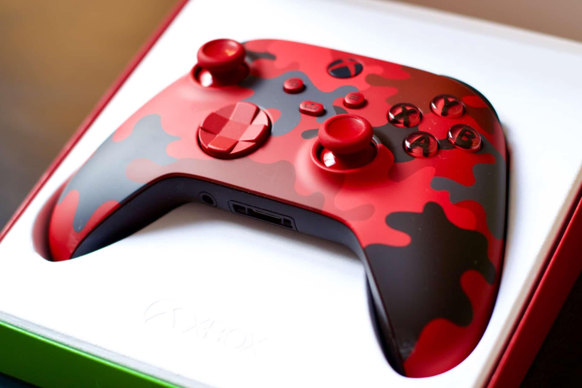 Manette Xbox Daystrike Camo